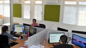 formation téléphonique centre de contacts